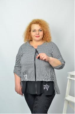 Блуза повсякденна батал