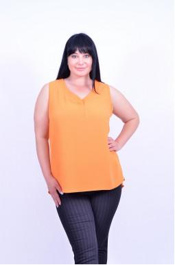 Класична блуза без рукавів