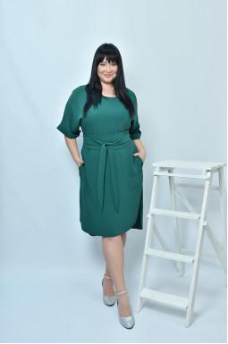 Класична сукня з поясом