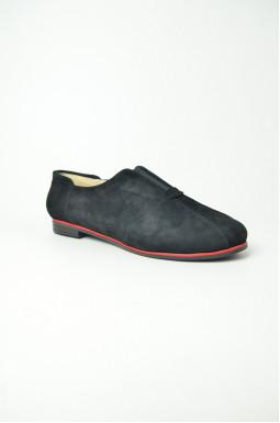 Туфлі замшеві великих розмірів