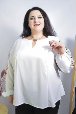 Блуза нарядная супер батал