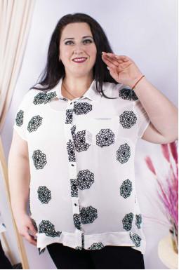 Блуза-двійка довга батал