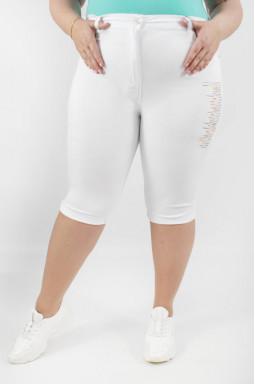 Капрі джинсові батал