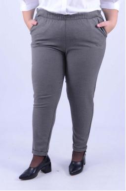 Класичні завужені брюки супер батал