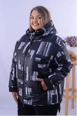 Куртка двусторонняя короткая супер батал