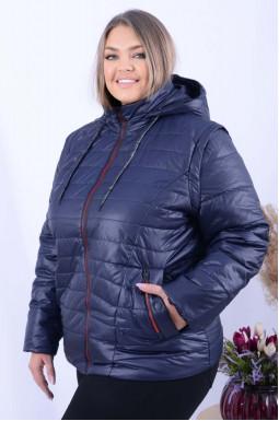 Куртка-жилет коротка демісезон батал