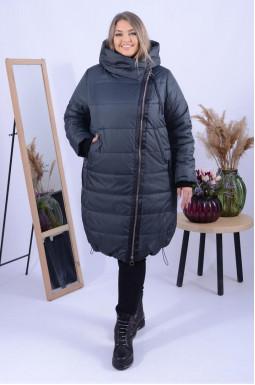 Зручне пальто холлофайбер супер батал