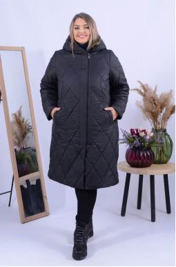Тепле пальто холлофайбер супер батал