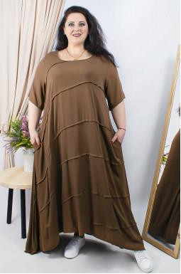 Сукня повсякденна максі супер батал