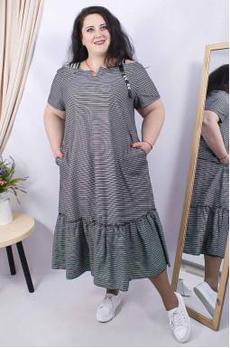 Сукня довга батал