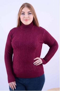 Яскравий короткий светр