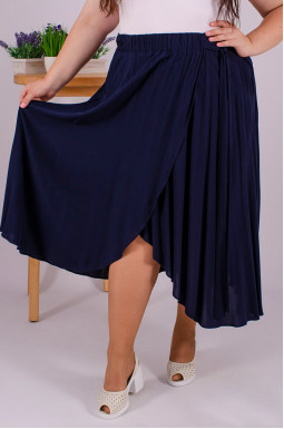 Длинная юбка нарядная супер батал
