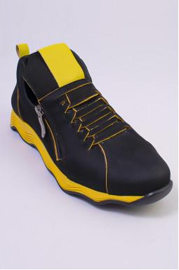 Яскраві кросівки нубук великих розмірів