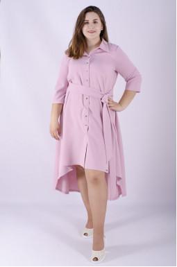 Платье с поясом супер батал