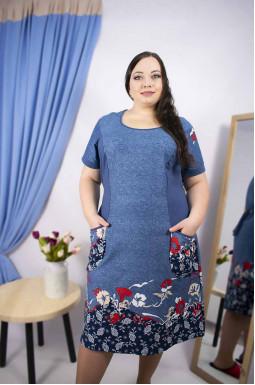 Платье домашнее супер батал