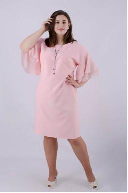 Сукня міді батал + прикраса