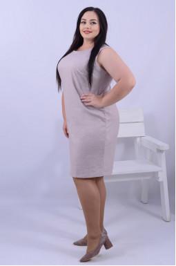 Класична кашемірова сукня міді супер батал