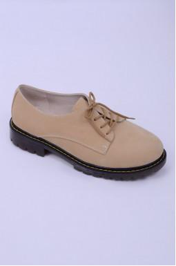 Туфлі закриті з нубуку великих розмірів