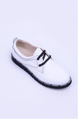 Закриті туфлі демісезон зі шнурівкою великих розмірів