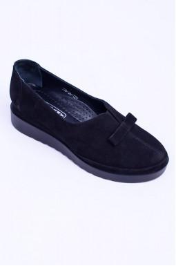 Замшеві демісезонні туфлі великих розмірів