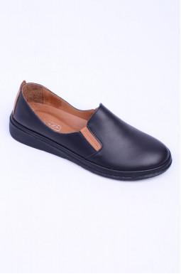 Шкіряні демісезонні туфлі великих розмірів