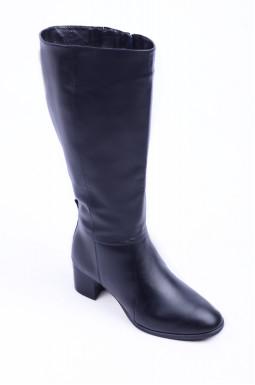 Шкіряні зимові чоботи великих розмірів