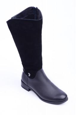 Зимові чоботи з оригінальним дизайном великих розмірів