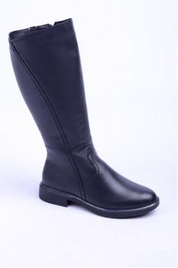 Шкіряні чоботи зима великих розмірів