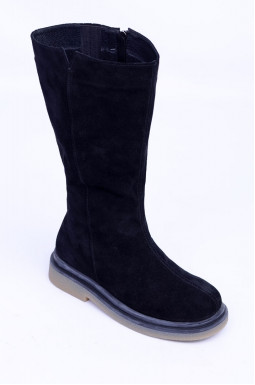 Зимові чоботи у двох кольорах великих розмірів