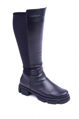 Зимові чоботи на підборах великих розмірів