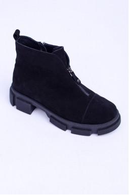 Замшеві зимові черевики великих розмірів