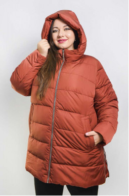 Куртка подовжена зимова супер батал