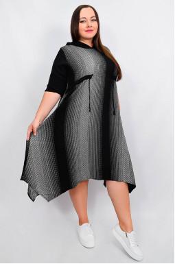 Платье повседневное стильное батал