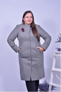 Пальто з аксессуаром в комплекті