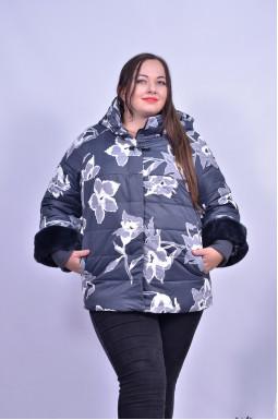 Куртка з квітковим принтом