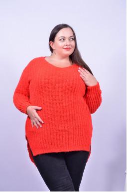 Яскравий подовжений светр