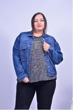 Куртка джинсова батал