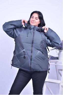 Куртка коротка тепла супер батал