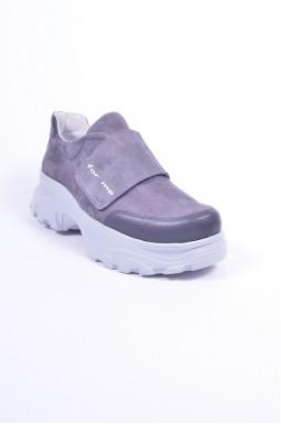 Кросівки замшеві великих розмірів