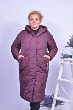 Пальто зимове стьобане