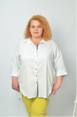 Классическая рубашка супер батал