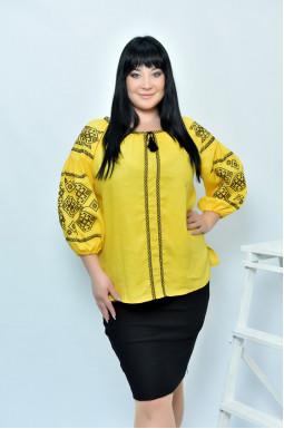 Блуза-вышиванка супер батал