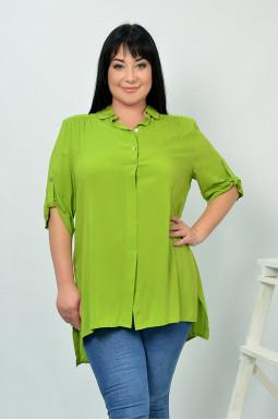 Блуза довга штапель супер батал
