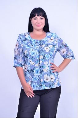 Блуза коротка батал