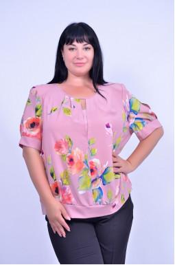 Блуза пряма супер батал