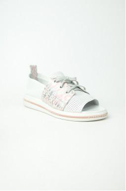 Стильні туфлі шкіряні великих розмірів