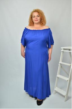 Святкова сукня з відкритими плечима супер батал