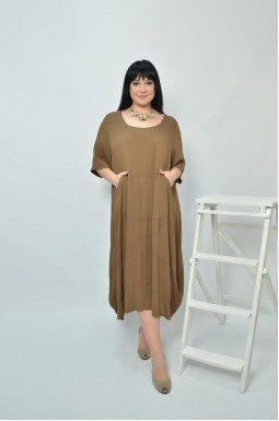 Сукня повсякденна коротка супер батал