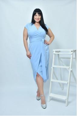 Нарядное платье по фигуре супер батал