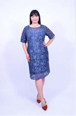 Святкова сукня з мереживом